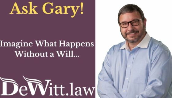 estate planning and no last will and testament
